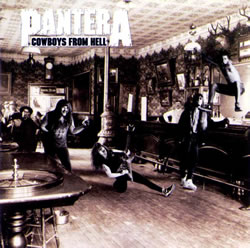 Cowboys from Hell Album Cover